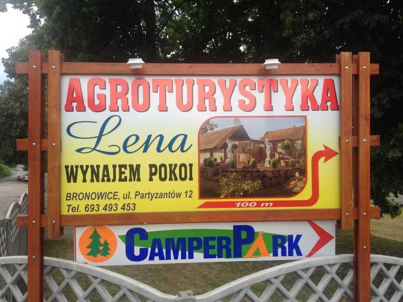 camperpark-lena-w-bronowicach-tablica