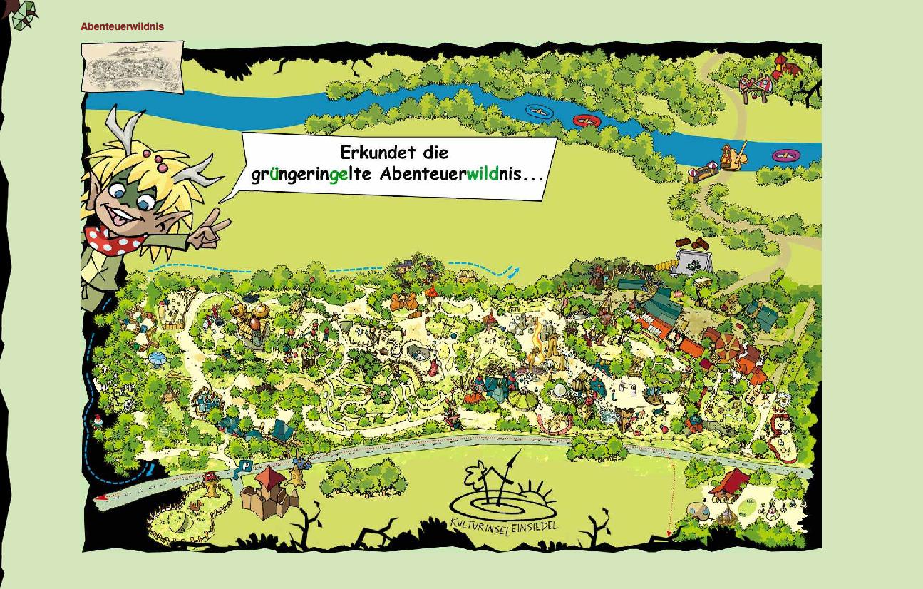 Kulturinsel mapa